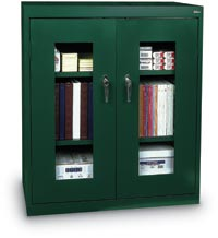 "122025 - 36"" x 18"" x 42"" Clear View Steel Storage Cabinet"