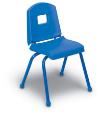 "14CHR - 14"" Colorful Stack Chair"