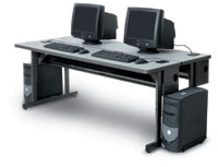 "150018 - 48"" Wide Split-Level Workstation"