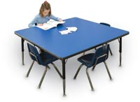 "156059 - 42"" x 42"" Square Activity Table"