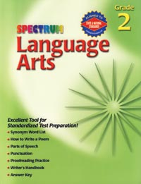 1577684729 - Spectrum Series Language Arts Grade 2