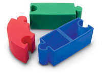 166002 - Molded Puzzle Piece Straight