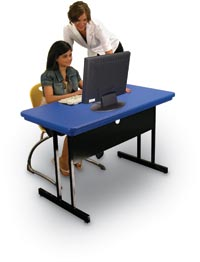 "171092 - 24"" x 48"" x 26"" Computer Table"
