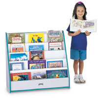 195039 - Pick-A-Book Stand with Rainbow Accents