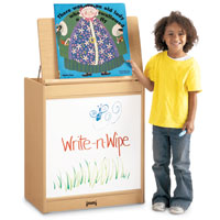 195207 - MapleWave Big Book Easel - Write-n-Wipe