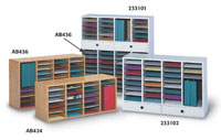 233102 - 32 Shelves, 2 Drawers