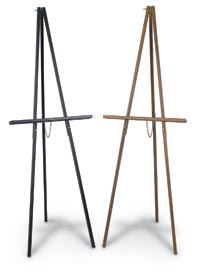 250090 - Economy Wood Easel Natural Finish