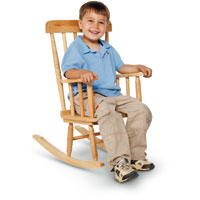 257072 - Children's Wooden Rocking Chair