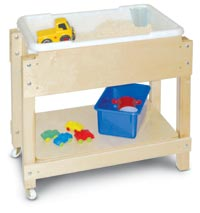 257075 - Petite Sand and Water/Sensory Table with Lid/Shelf