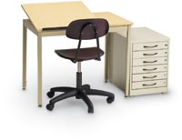 27338 - Split-Top Graphic Arts/Drafting Table
