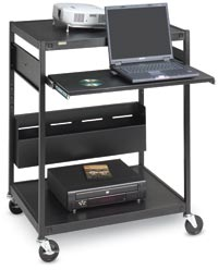 302111 - Data Projector and Laptop Mobile Cart