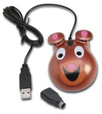 309016 - Bear-themed Optical Computer Mouse