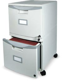 505001 - Mobile Double Drawer