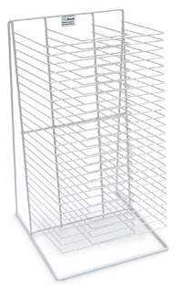 603001 - AWT Single Sided Table Top Drying Rack 25 Shelves