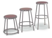 "6230 - 30""H Steel Framed Stool"