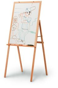 745 - Teacher Oak Presentation Easel