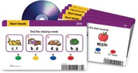 787528 - Radius Audio Learning System - Short Vowels Card Set