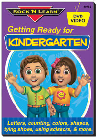 802033 - Getting Ready for Kindergarten Video DVD