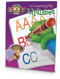 933009 - I'm Learning My ABC's Wipe Away Activity Book