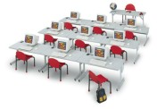 "CFLAA3048G - 48"" Medley Classroom Tables"
