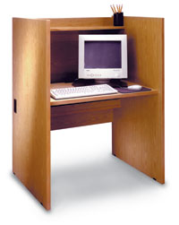 LC36 - Study Computer Carrel Starter Unit