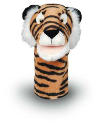 "MTB206 - Plushpups  14"" Animal Puppets - TIGER"