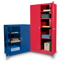 "S7236 - Standard Colorful Storage Cabinets 36 x 18 x 72""H"