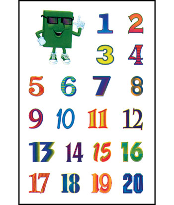 Colors, Shapes & Counting: Rock N Learn