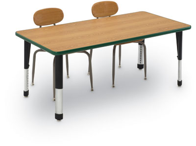 "240140 - 36"" x 72"" x 22""-34"" Rectangular Activity Table"