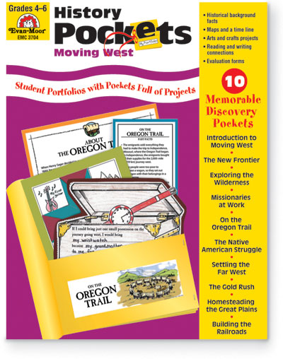 773090 - History Pockets - Moving West Grades 4 - 6