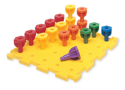 787434 - Rainbow Peg Play Activity Set