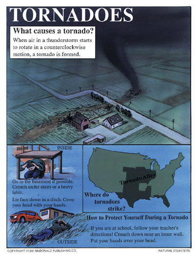 MCP100 - Natural Disasters, Teaching Poster Set