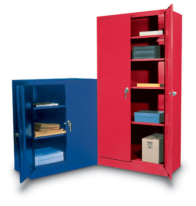"S4236 - Standard Colorful Storage Cabinets 36 x 18 x 42""H"
