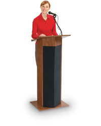 Power Plus Lectern for Mid-Sized Audiences