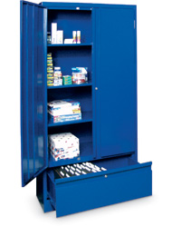 Storage and File Drawer Cabinet