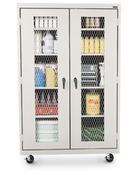 Expanded Steel Metal Front Storage Cabinets
