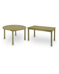 Wood Library Classroom Tables