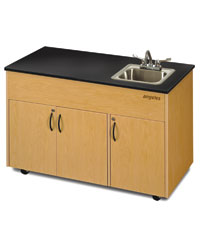 Angeles Portable Cabinet With Sink At Direct Advantage