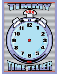 Timmy Time Teller Board