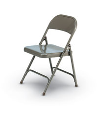 Strong and Practical Steel Folding Chair