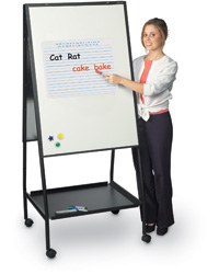 Mobile Dry Erase Easel