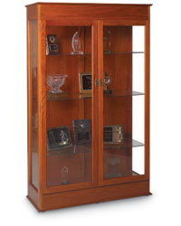 Traditional Wood Display Case