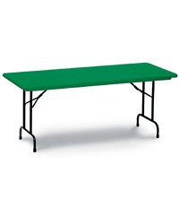 Bright Colored Plastic Resin Folding Tables