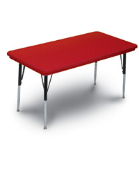 Light and Portable Plastic Activity Tables