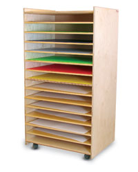 Paper, Puzzles and Games Rack