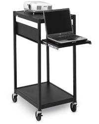 Compact Projector Carts