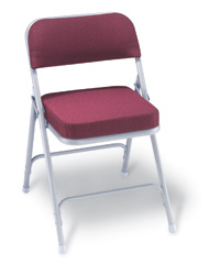 "2"" Thick Padded Folding Chair"