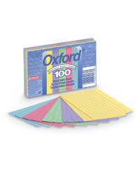 Oxford Assorted Index Cards