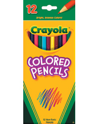 Full Length Colored Pencils