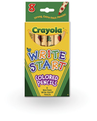 Write Start Colored Pencil